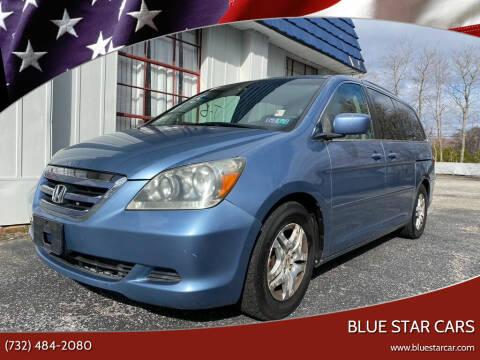 2007 Honda Odyssey for sale at Blue Star Cars in Jamesburg NJ