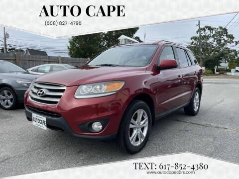 2012 Hyundai Santa Fe for sale at Auto Cape in Hyannis MA