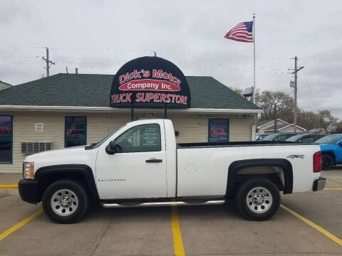 2008 Chevrolet Silverado 1500 for sale at DICK'S MOTOR CO INC in Grand Island NE