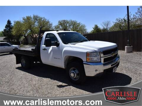 2007 Chevrolet Silverado 3500HD CC for sale at Carlisle Motors in Lubbock TX