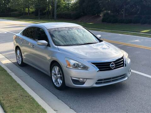 2013 Nissan Altima for sale at Two Brothers Auto Sales in Loganville GA