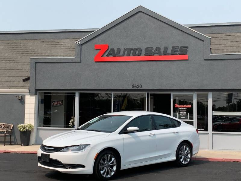 2015 Chrysler 200 for sale at Z Auto Sales in Boise ID