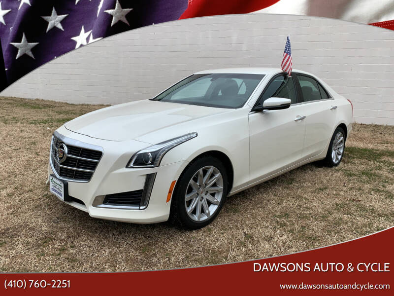 2014 Cadillac CTS for sale at Dawsons Auto & Cycle in Glen Burnie MD