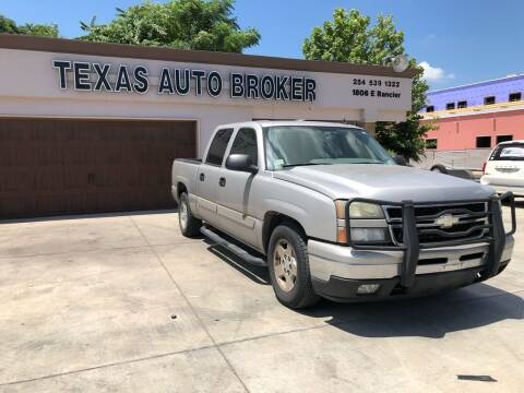 2007 Chevrolet Silverado 1500 Classic for sale at Texas Auto Broker in Killeen TX