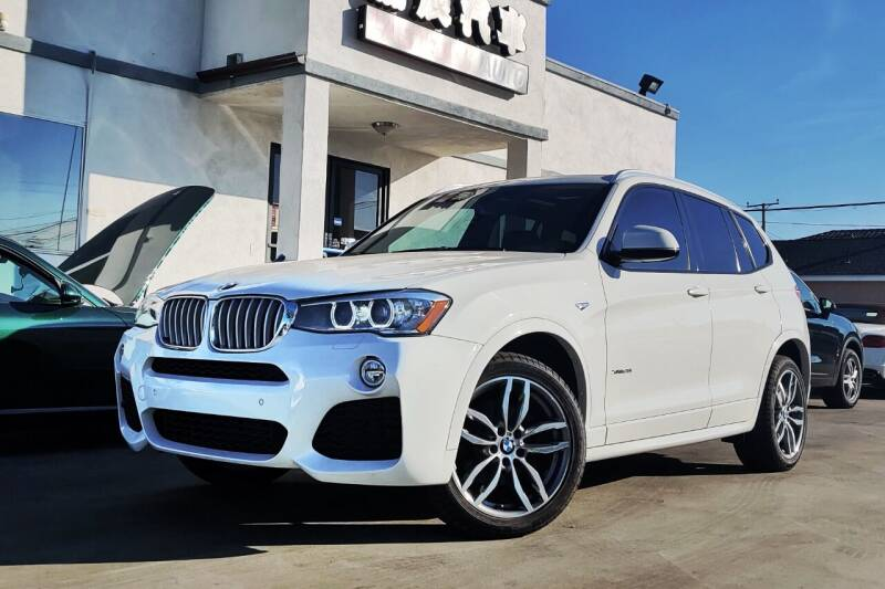 2016 BMW X3 for sale at Fastrack Auto Inc in Rosemead CA