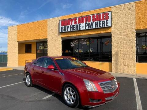2008 Cadillac CTS for sale at Marys Auto Sales in Phoenix AZ