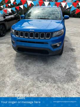 2017 Jeep Compass for sale at Gralin Hampton Auto Sales in Summerville SC