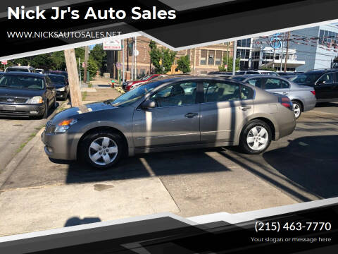 2008 Nissan Altima for sale at Nick Jr's Auto Sales in Philadelphia PA