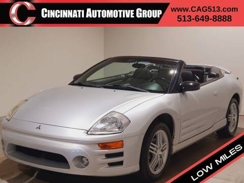 2005 Mitsubishi Eclipse Spyder for sale at Cincinnati Automotive Group in Lebanon OH