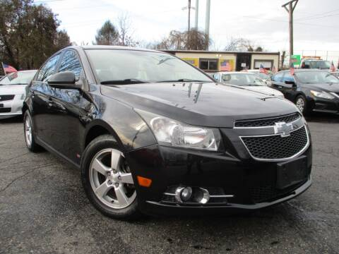 2013 Chevrolet Cruze for sale at Unlimited Auto Sales Inc. in Mount Sinai NY