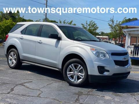 2014 Chevrolet Equinox for sale at Town Square Motors in Lawrenceville GA