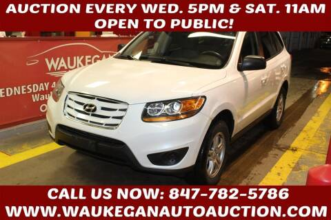 2010 Hyundai Santa Fe for sale at Waukegan Auto Auction in Waukegan IL