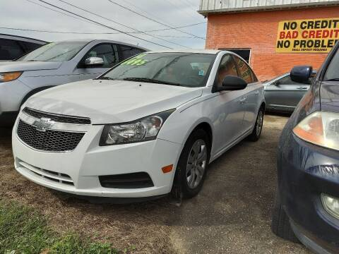 2014 Chevrolet Cruze for sale at Best Auto Sales in Baton Rouge LA