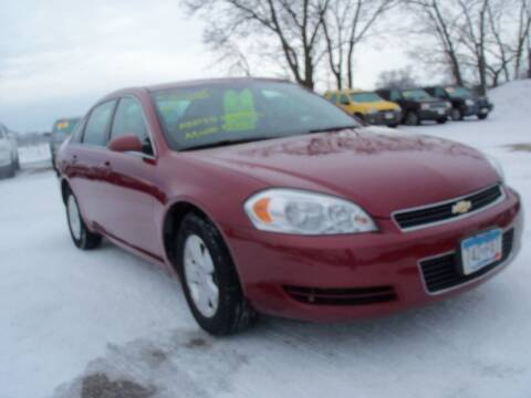 2008 Chevrolet Impala for sale at Country Side Car Sales in Elk River MN