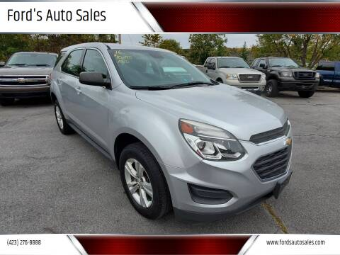 2016 Chevrolet Equinox for sale at Ford's Auto Sales in Kingsport TN