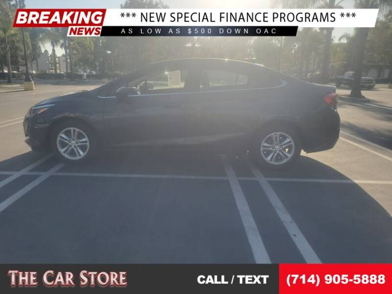 2018 Chevrolet Cruze for sale at The Car Store in Santa Ana CA