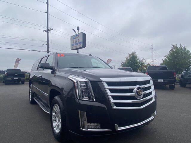 2015 Cadillac Escalade ESV for sale at S&S Best Auto Sales LLC in Auburn WA