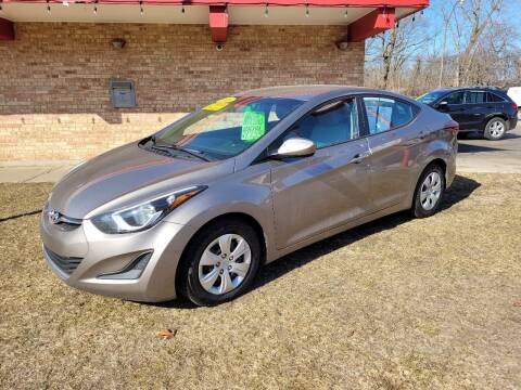 2016 Hyundai Elantra for sale at Murdock Used Cars in Niles MI