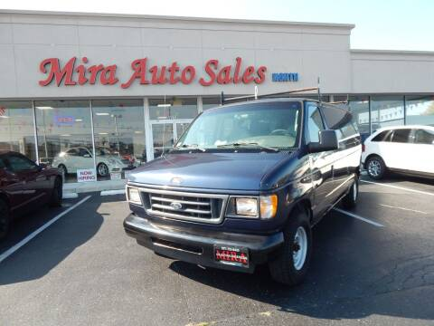 2003 Ford E-Series Cargo for sale at Mira Auto Sales in Dayton OH