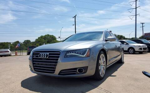 2014 Audi A8 L for sale at International Auto Sales in Garland TX