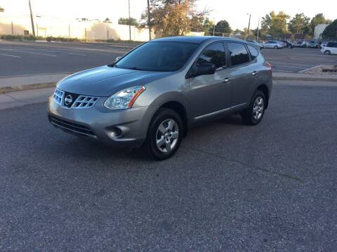 2013 Nissan Rogue for sale at AROUND THE WORLD AUTO SALES in Denver CO