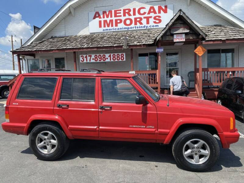 1999 Jeep Cherokee for sale at American Imports INC in Indianapolis IN