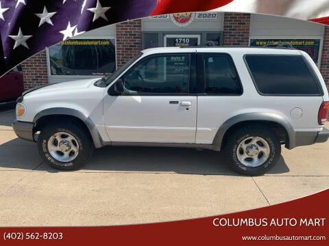 2000 Ford Explorer for sale at Columbus Auto Mart in Columbus NE
