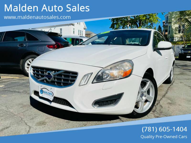 2013 Volvo S60 for sale at Malden Auto Sales in Malden MA