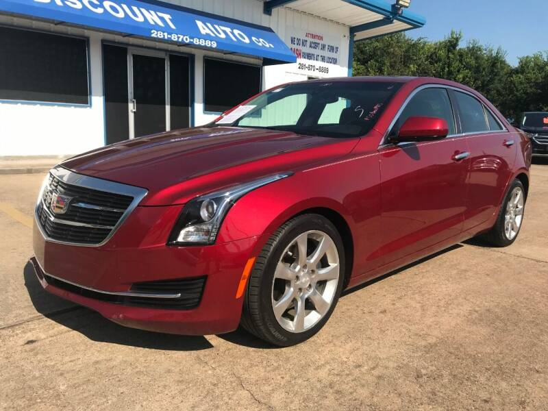 2015 Cadillac ATS for sale at Discount Auto Company in Houston TX