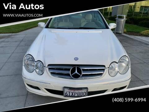 2009 Mercedes-Benz CLK for sale at Top Motors in San Jose CA