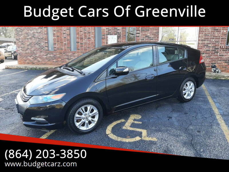 2010 Honda Insight for sale at Budget Cars Of Greenville in Greenville SC