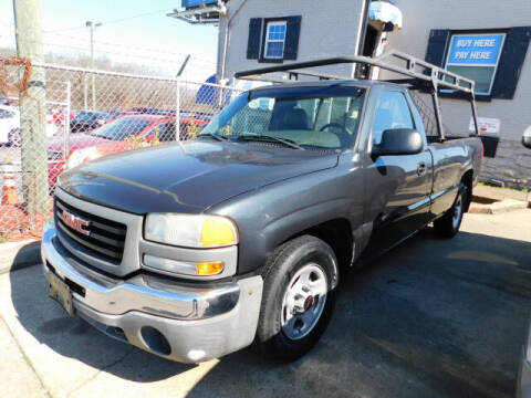 2003 GMC Sierra 1500 for sale at WOOD MOTOR COMPANY in Madison TN
