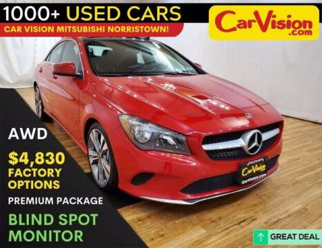 2018 Mercedes-Benz CLA for sale at Car Vision Buying Center in Norristown PA