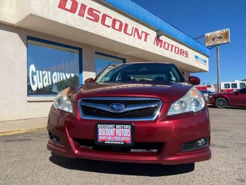 2011 Subaru Legacy for sale at Discount Motors in Pueblo CO