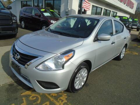 2016 Nissan Versa for sale at Island Auto Buyers in West Babylon NY