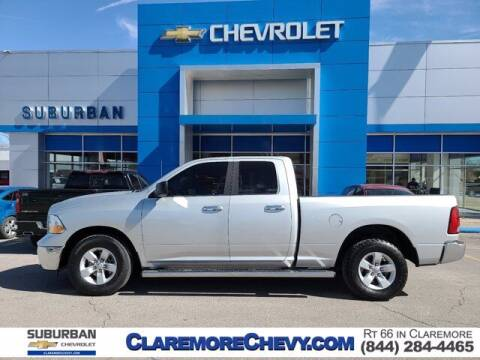 2017 RAM Ram Pickup 1500 for sale at Suburban Chevrolet in Claremore OK