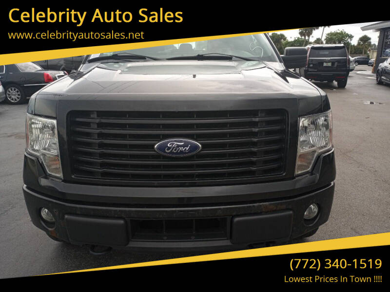 2014 Ford F-150 for sale at Celebrity Auto Sales in Port Saint Lucie FL