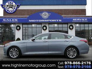 2016 Hyundai Genesis for sale at Highline Group Motorsports in Lowell MA