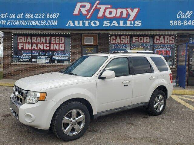 2009 Ford Escape for sale at R Tony Auto Sales in Clinton Township MI