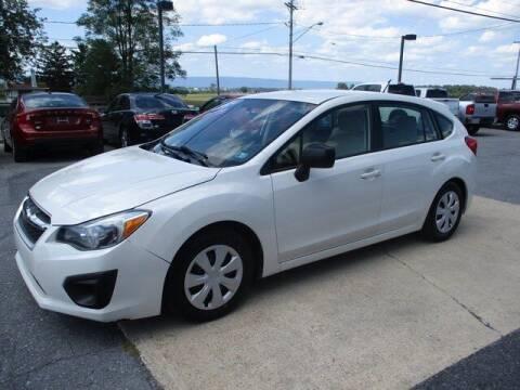2014 Subaru Impreza for sale at FINAL DRIVE AUTO SALES INC in Shippensburg PA