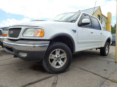 2002 Ford F-150 for sale at RPM AUTO SALES in Lansing MI