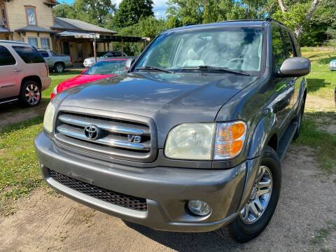 2003 Toyota Sequoia for sale at Richard C Peck Auto Sales in Wellsville NY