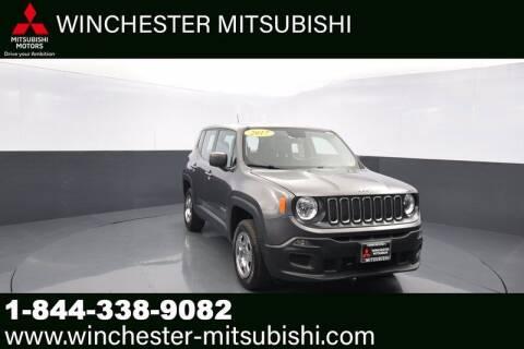 2017 Jeep Renegade for sale at Winchester Mitsubishi in Winchester VA