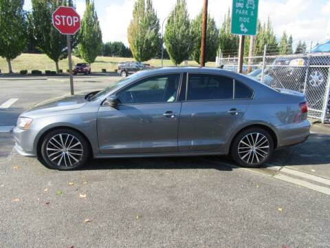2016 Volkswagen Jetta for sale at Car Link Auto Sales LLC in Marysville WA