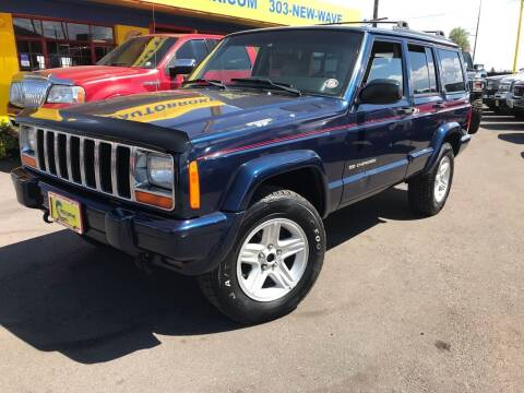 2000 Jeep Cherokee for sale at New Wave Auto Brokers & Sales in Denver CO