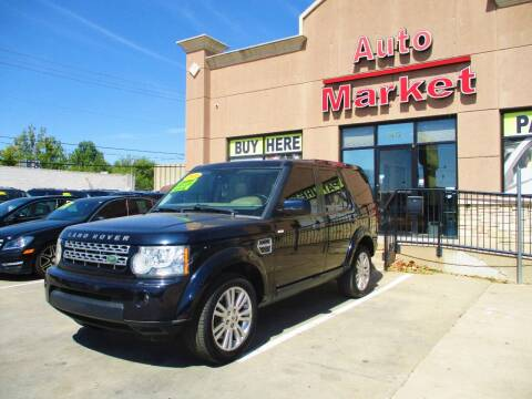 2010 Land Rover LR4 for sale at Auto Market in Oklahoma City OK