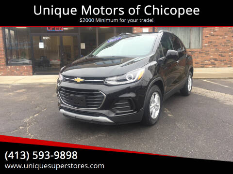 2017 Chevrolet Trax for sale at Unique Motors of Chicopee in Chicopee MA