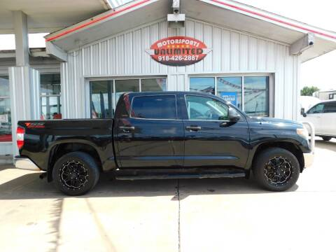 2017 Toyota Tundra for sale at Motorsports Unlimited in McAlester OK