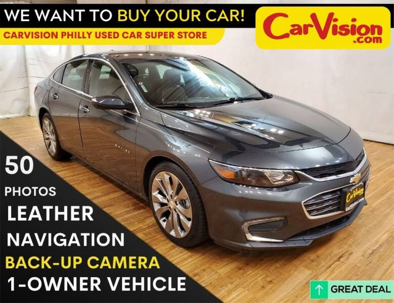 2016 Chevrolet Malibu for sale at Car Vision Mitsubishi Norristown - Car Vision Philly Used Car SuperStore in Philadelphia PA