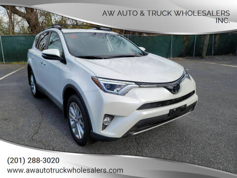 2018 Toyota RAV4 for sale at AW Auto & Truck Wholesalers  Inc. in Hasbrouck Heights NJ